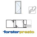 door forster presto, frame 50 mm, single leaf