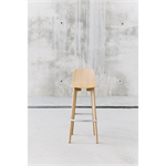 Lottus Wood high stool