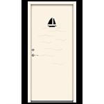 Exterior Door Character Ocean (Inswing)
