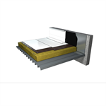 reflecting waterproofing system for inaccessible flat roofs