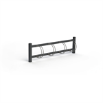 BIKE Bicycle Rack, One Sided
