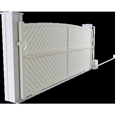 intimité line - marsala sliding gate model