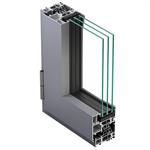 Metra NC 65 STH HES WS - Aluminium Window inward opening
