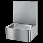 188000 handwaschbecken hygiene mit hoher rückwand