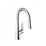 Talis S Single lever kitchen mixer 200 with pull-out spray 72813001
