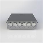 distribution box for dx system - dx hub 6