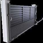 discretion line - floriana sliding gate model a