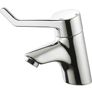 Waschtischsicherheitsarmatur ohne Ablaufgarnitur (Bedienhebel 120 mm)