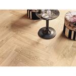 french oak zenitude bois flotté, herringbone