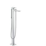 Metropol Single lever bath mixer floor-standing with loop handle 74532000