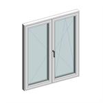 STRUGAL S82RP Window (Two-Leaf)