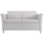 Wieland Rally Aspire Loveseat, Available in Mid-Back Height