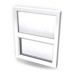 Intakt inward opening window 2+1 glass 2-light with transom Top Fixed leaf with bottom Sidehung or Kippdreh