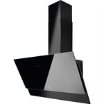 Chimney Design Hood Face Glass 90 Black
