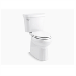 gleam™ comfort height® the complete solution® two-piece elongated 1.28 gpf chair height toilet with slow close seat
