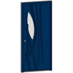 entrance door collection caractère roseau