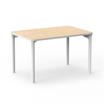 Table Marcus, 120 x 80 cm, white