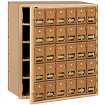 2000 Series Brass Mailboxes-Front Loading