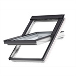 top operated polyurethane roof window centre-pivot - ggu