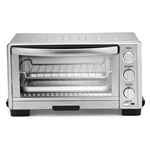 Toaster Oven Broiler, Silver