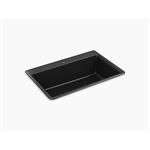 """kennon® 33"""" x 22"""" x 10-1/8"""" neoroc® top-/under-mount single-bowl kitchen sink"""