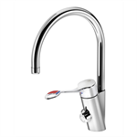 Care kitchen mixer high spout