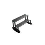 walkway and stepover steps free standing 0,5mtr | yeti rooftop walkway and stepover