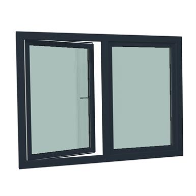 s9000 double-leaf turn tilt window