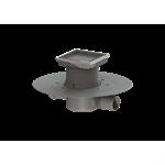 kessel-bathroom drain superflat 42701.95 ø50 lateral, glue flange, recessed cover