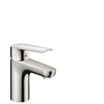 Logis E Single lever basin mixer 70 with pop-up waste set 71160000
