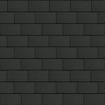 bardeaux couverture (500 mm x 1000 mm, horizontal,  artcolor basalte)
