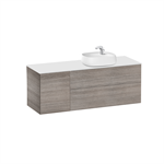 BEYOND Base unit for over countertop basin on the right