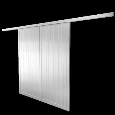 Volet coulissant ONDEA 2 vantaux simple rail