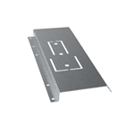 Fastening plate for LPE tile effect roofs