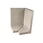l-tec system corner 90° - length 99 cm  - surface fairface concrete
