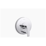 avid® rite-temp® valve trim with push-button diverter and lever handle