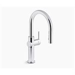 crue™ pull-down single-handle kitchen faucet