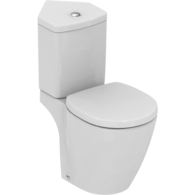 connect space wc pack cc white & seat corner