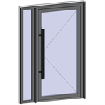 grand trafic doors - single inward opening with left fixed