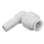 Polybutylene Push-Fit 90 Spigot Elbow - 15, 22mm - 36046, 36047