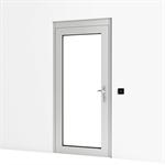 entrance door high security w/ escape route terminal