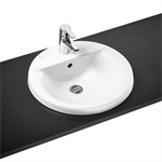 concept sphere 48cm countertop washbasin 1 taphole