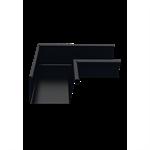 Inner gutter angle for rectangular gutter 140