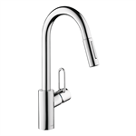 Talis Single lever kitchen mixer 230 Loop with pull-out spray 04701005