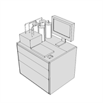 M0630 - Anesthesia Apparatus, 3 Gas