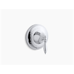 Finial® Traditional Rite-Temp® valve trim with lever handle