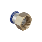 Geberit Mapress SS Adaptor with union nut made of brass