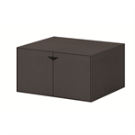 Box Black Module Black Small With Black Door