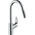 Focus Single lever kitchen mixer 240 with pull-out spray 31815000