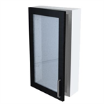 Bath 16-70 Wall Cabinet with Glass Door